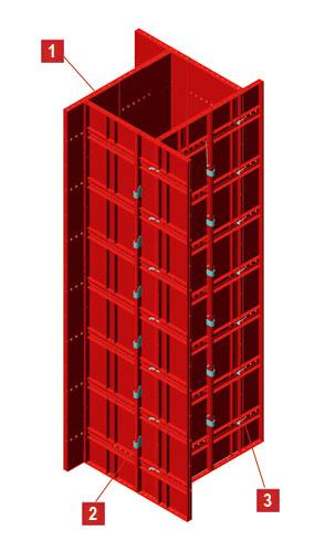 fabricante-encofrados-fermar-panel-metalico-pilares-columnas-muros-zaragoza-venta-serie-ligera-economico-encofrado