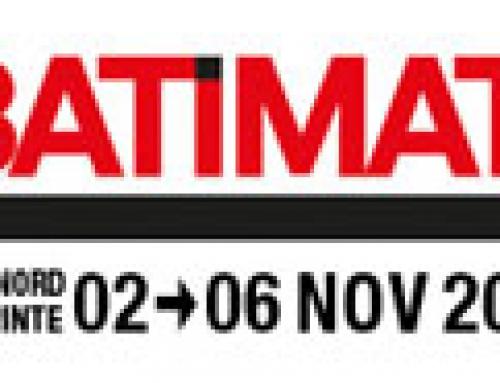Visit us at Batimat 2015 :  HALL 7 Stand K100